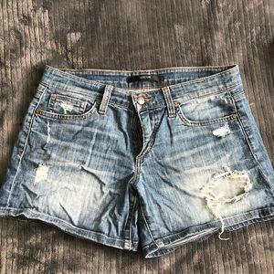 Joes Jeans loose fit destroyed denim